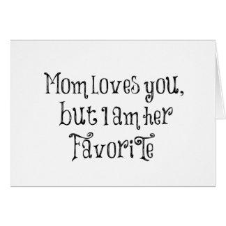 Citation drôle : La maman vous aime mais Cartes