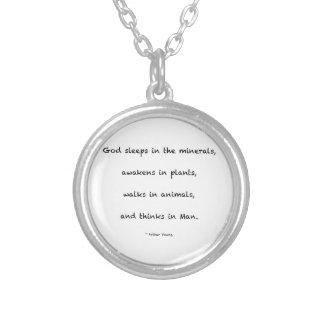 Citation inspirée collier