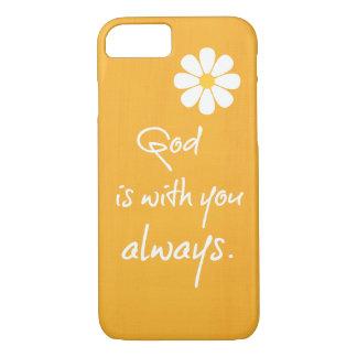 Citation inspirée de Dieu Coque iPhone 7