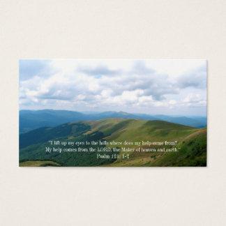 Citation inspirée du chrétien | cartes de visite