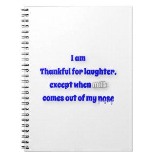 Citation reconnaissante - je suis reconnaissant carnet
