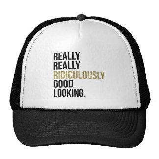 Citation ridiculement belle casquette trucker