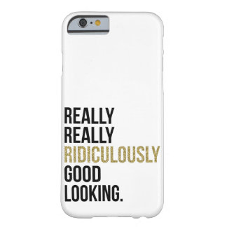Citation ridiculement belle coque barely there iPhone 6