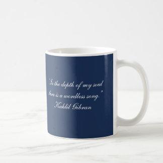 Citation sans mots de Gibran de Chanson-Kahlil Mug