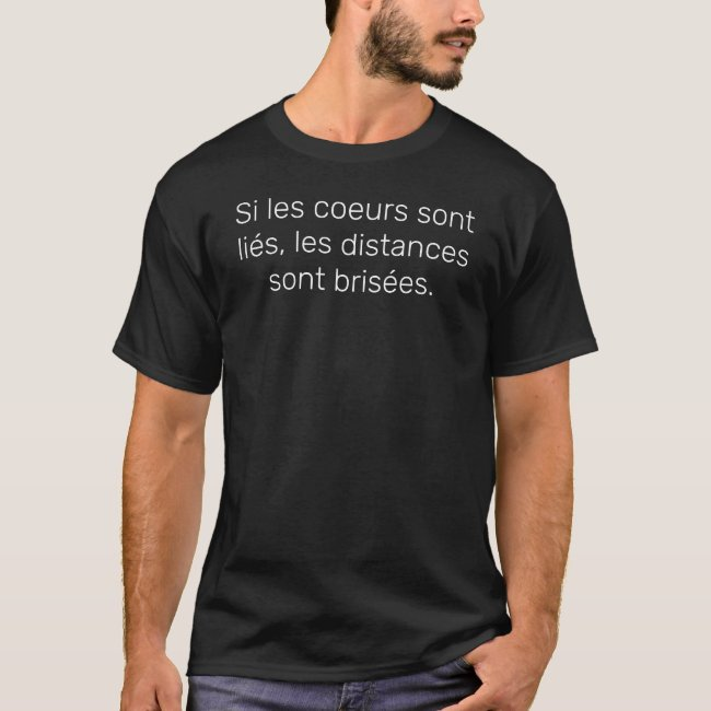 Citation T-shirt noir Homme