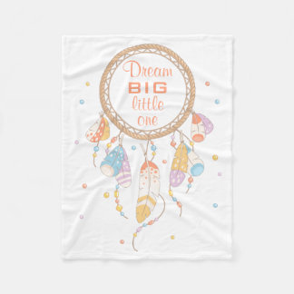 Citation tribale de Dreamcatcher Boho Couverture Polaire