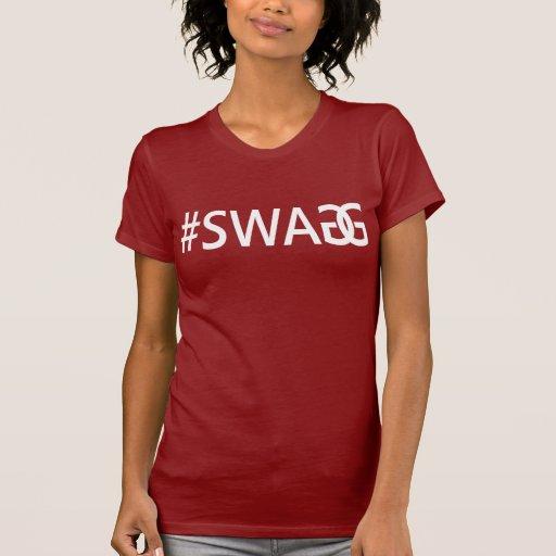 Citations à la mode drôles du #SWAG/SWAGG, pièce e T-shirt