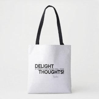 CITATIONS : Bouddha : Gardez votre pensée Sac