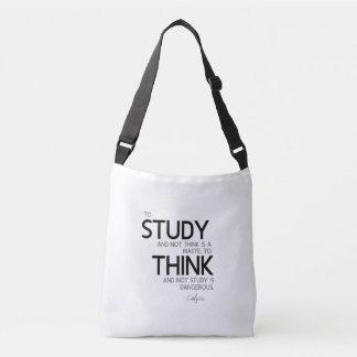CITATIONS : Confucius : Pour étudier, pour penser Sac