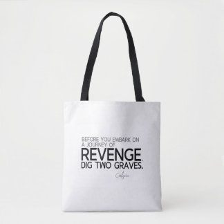 CITATIONS : Confucius : Voyage de vengeance Sac