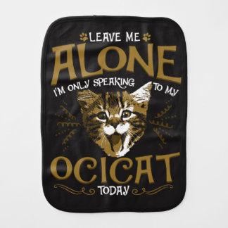 Citations de chat d'Ocicat Linges De Bébé