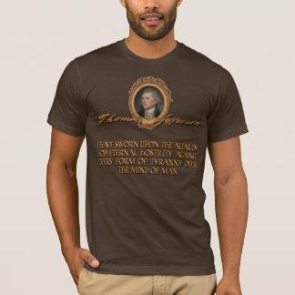 Citations de Thomas Jefferson : Hostilité contre T-shirt
