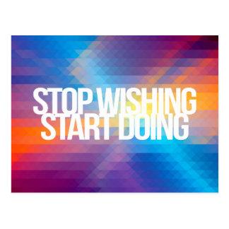 Citations inspirées et de motivation cartes postales