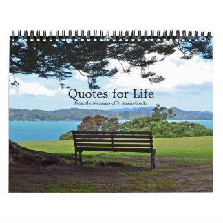 Citations pour l'option E de calendrier de la vie