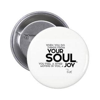 CITATIONS : Rumi : Votre âme, joie Badges