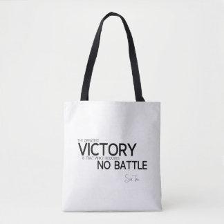 CITATIONS : Sun Tzu : La plus grande victoire Sac