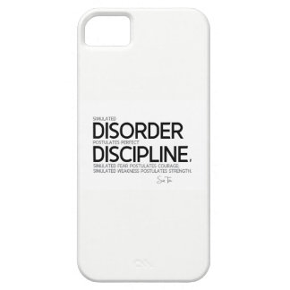CITATIONS : Sun Tzu : Perfectionnez la discipline Coque iPhone 5
