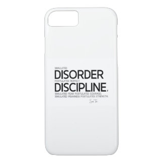 CITATIONS : Sun Tzu : Perfectionnez la discipline Coque iPhone 7