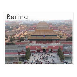 Cité interdite Pékin Carte Postale