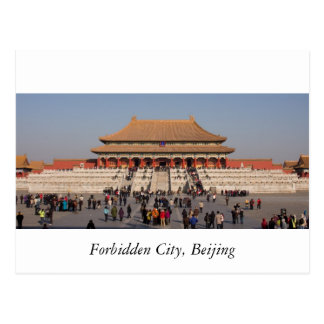 Cité interdite, Pékin Carte Postale