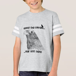 Citez le T-shirt du garçon personnalisable de