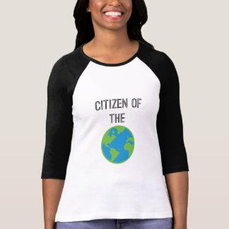 Citoyen du monde t-shirt
