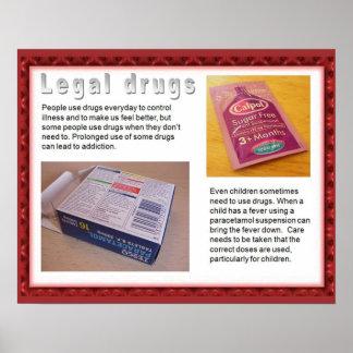 Citoyenneté, drogues juridiques de qualifications  poster