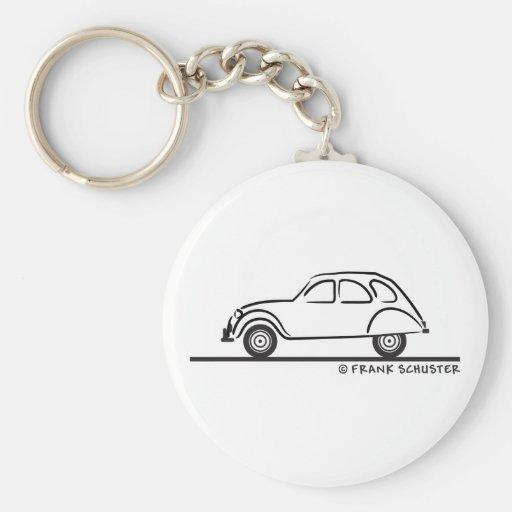 Citroen 2CV Porte-clés