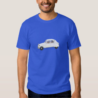 Citroen blanc 2CV T-shirts