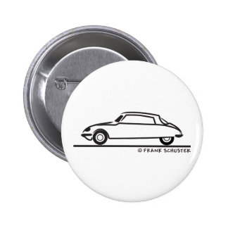 Citroën DS 21 Badge Rond 5 Cm