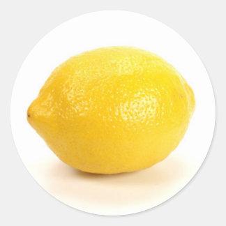 Citron Autocollants