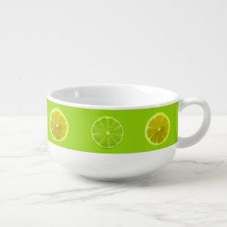 Citron et chaux mug à soupe