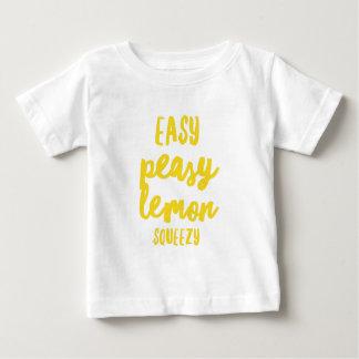 Citron facile Squeezy de Peasy T-shirt Pour Bébé