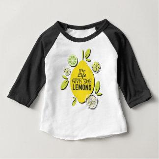 Citron T-shirt Pour Bébé