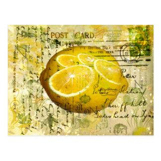 Citrons de carte postale