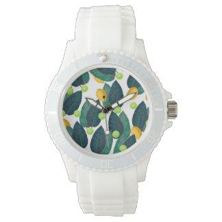 citrons et chaux montres bracelet