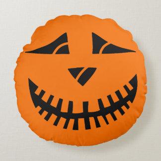 Citrouille de Halloween Coussins Ronds