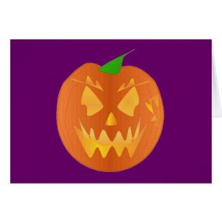 Citrouille de Halloween dans le pourpre I