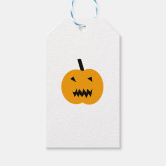 Citrouille de Halloween Étiquettes-cadeau