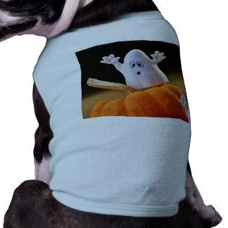 Citrouille et fantôme - fantôme drôle - citrouille t-shirt