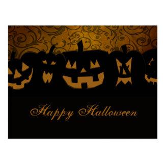 Citrouille Halloween Cartes Postales