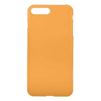 Citrouille Halloween creux déplaisant orange Coque iPhone 7 Plus