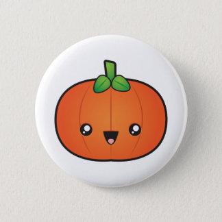 Citrouille mignon de Halloween Badge