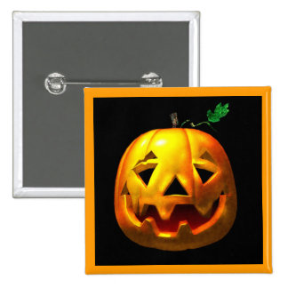 Citrouilles de Halloween Badges Avec Agrafe