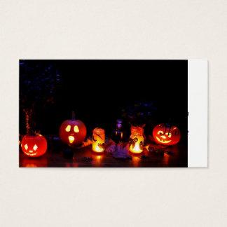 Citrouilles de Halloween Cartes De Visite