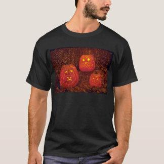 Citrouilles découpés décoratifs uniques t-shirt