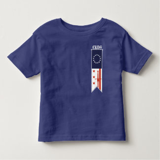 CKDF peu de T-shirt d'enfant en bas âge de Fechter