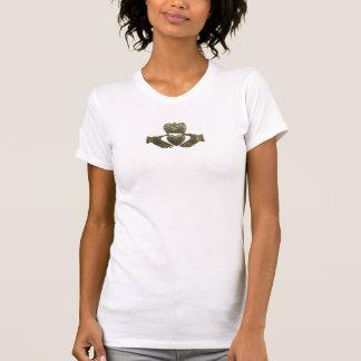 Claddagh d Irlandais d or T-shirt