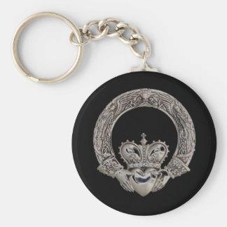 Claddagh Keychains Porte-clé Rond