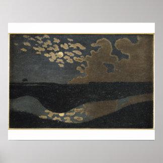 Clair de lune, 1894 affiche